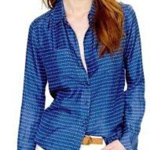 J. Crew Blythe blouse